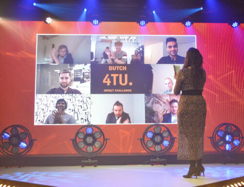 Team ZED from TU Delft wins the 4TU Impact Challenge 2020