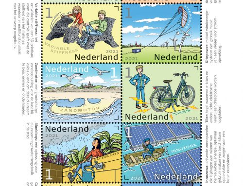 PostNL commemorates innovations from Delft on special stamps