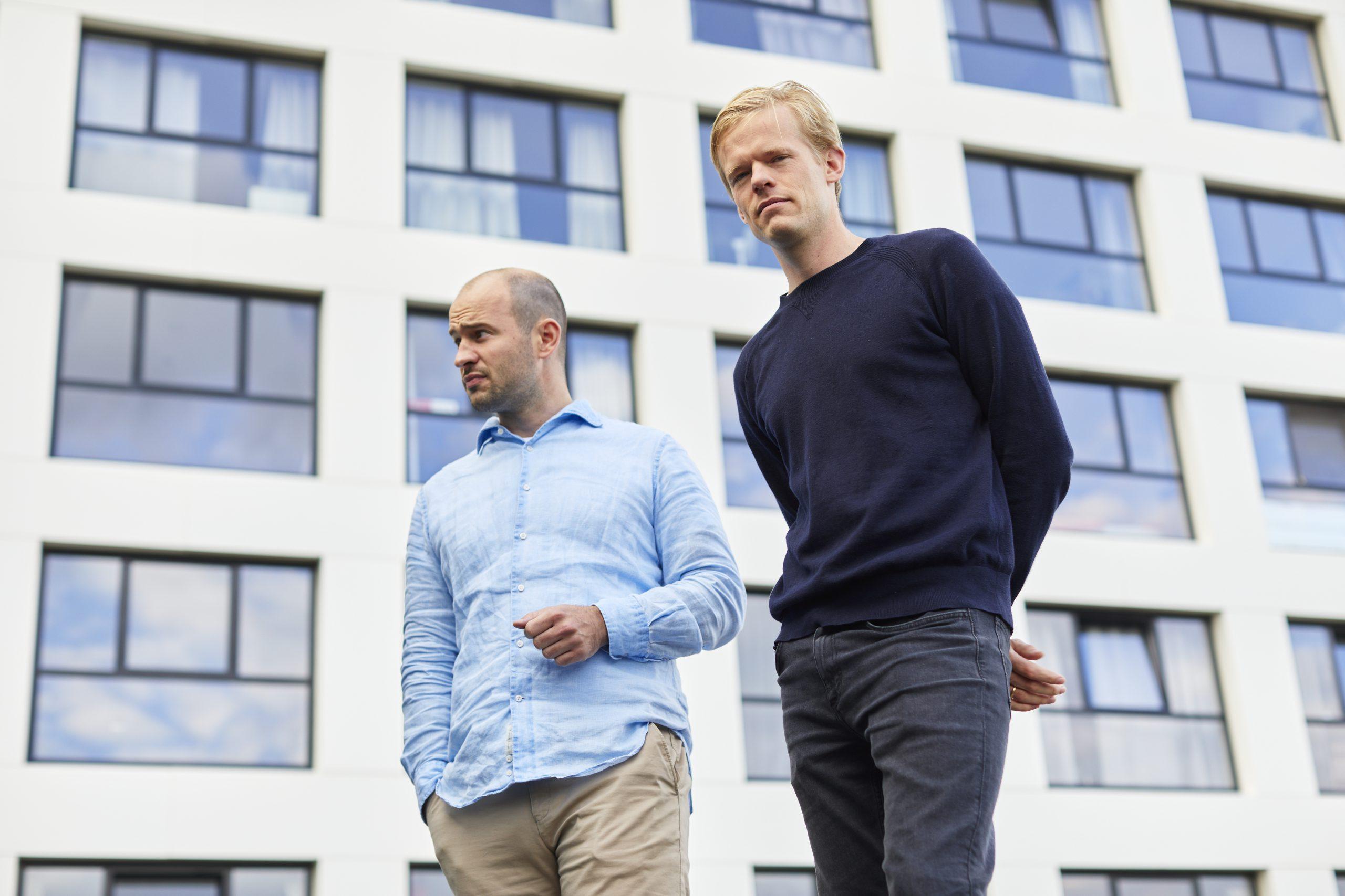Ferdinand Grapperhaus (links) geeft samen met co-founder Willem Kesteloo leiding aan Physee.
